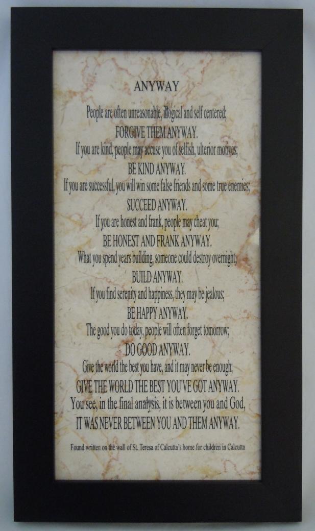 514 anyway poem by mother teresa treasures 2 remember 514 anyway poem by mother teresa thecheapjerseys Gallery