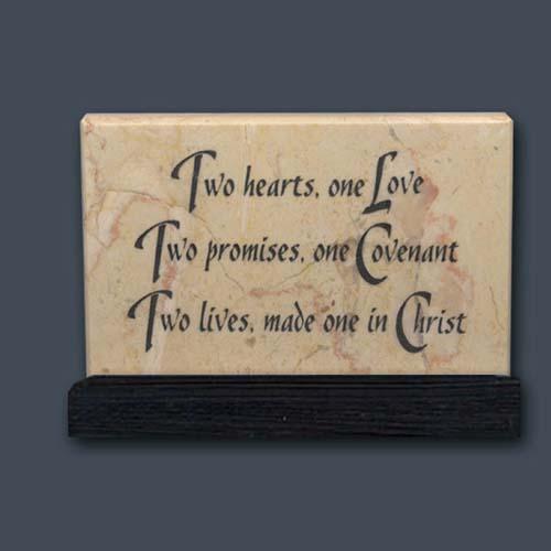Wedding Anniversary Prayer Stone