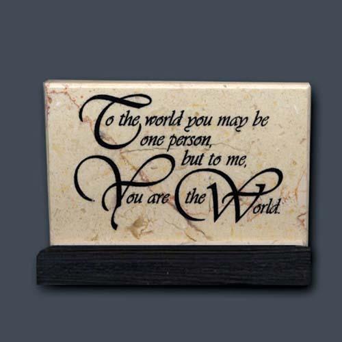 548 wedding anniversary or valentine prayer stone - Valentine Prayer