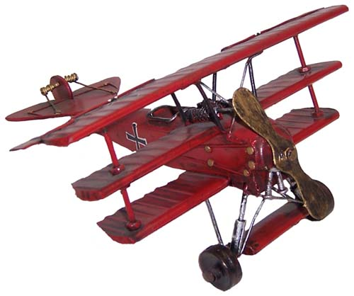 #JL197 – Red Baron Biplane | Treasures 2 Remember